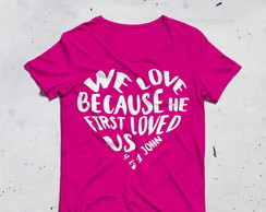 Camiseta We Love