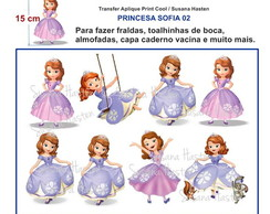 Transfer Aplique KIT PRINCESA SOFIA 02