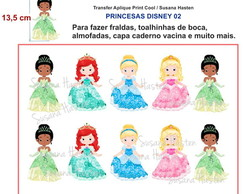 Transfer Aplique KIT PRINCESA DISNEY 02