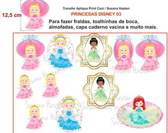 Transfer Aplique KIT PRINCESA DISNEY 03