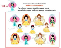 Transfer Aplique KIT PRINCESA DISNEY 04