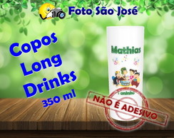 Copos Long Drinks 350 ml chaves
