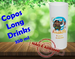 Copos Long Drinks 350 ml Moana