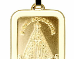 b4b962ce5226d Pingente Religioso Banhado Ouro 18k Nossa Senhora Aparecida   Elo7