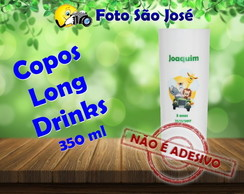 Copos Long Drinks personalizados 350 ml Safari