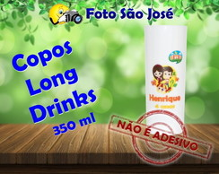 Copos Long Drinks 350 ml sitio do picapáu