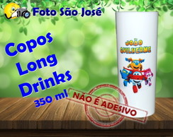 Copos Long Drinks 350 ml super wings