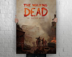 Quadro Poster MDF Gigante 1,0 x 0,70, The Walking Dead, mod3