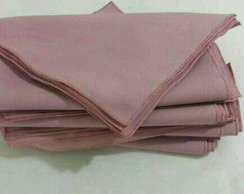 12 Guardanapos rose Oxford 40 x 40
