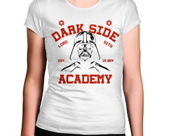 Camiseta Feminina Dark Side Academy