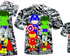 Kit Familia Super Herois Baby