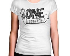 Camiseta Feminina One Direction Pimenta