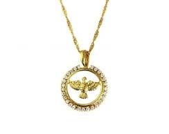 ... Colar espirito santo banhada a ouro 034787bf18