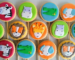 Biscoito Decorado: Safari Baby