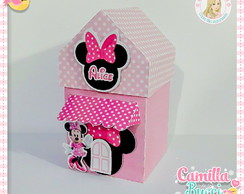 Casinha Minnie Rosa