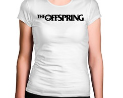 Camiseta Feminina The Offspring Banda de Rock