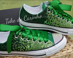Converse All Star Luxo Cristais.