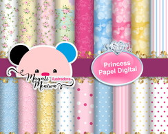 Papel Princesa Papel digital para scrapbook