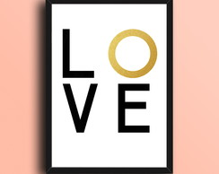 Quadro Decorativo - lOve