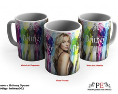 Caneca Britney Spears 002