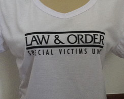 Camiseta Law and Order