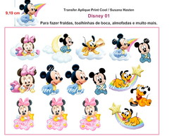 Transfer Aplique KIT Disney 01