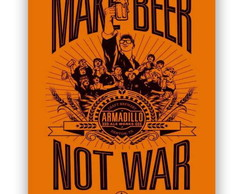 Placa Make Beer Not War