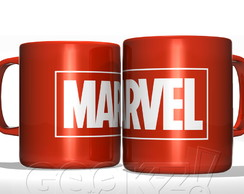 Caneca Nerd Marvel Entertainment Vermelha