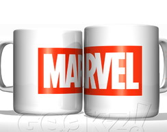 Caneca Nerd Marvel Entertainment Branca