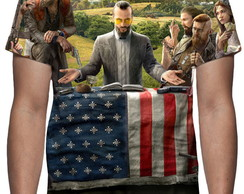 Camiseta Game Farcry 5 - Estampa Total