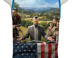 Camiseta Game Farcry 5 - Regata