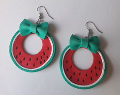 Brinco Melancia/watermelon