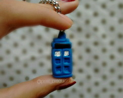 Chaveiro Police Box (Doctor Who)