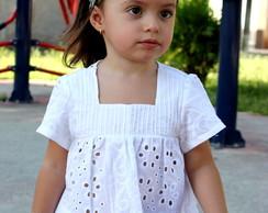 ffd013290c Blusa infantil de lese no Elo7
