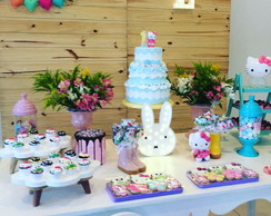 FESTA CLEAN Hello Kitty - alugue e decore