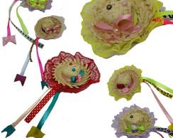 64f4982e8aa05 ... Mini Chapéu de palha Infantil Pet Bebê festa junina caipira