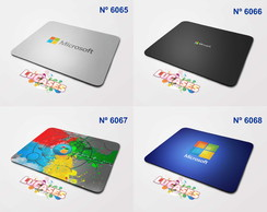 Mouse Pad Microsoft Windows Marca Marcas Logo Logos Mousepad