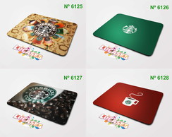 Mouse Pad Starbucks Cafe Carro Marca Marcas Carros Mousepad