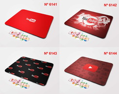 Mouse Pad Youtube You Tube Yt Marca Marcas Logo Mousepad