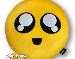 ef6a82384bce3 ... Almofada Emoji Pelúcia Bordada Whatsapp Meiga Emoticon
