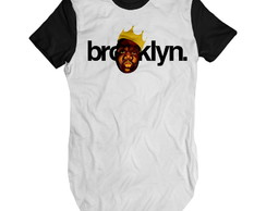 Camiseta Swag Masculina Biggie Brooklyn camisa long swag