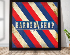 Quadro Decorativo com Moldura Barber Pole RQ023