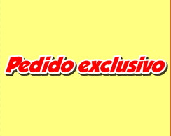 Pedido Exclusivo
