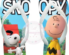 Chinela Havaiana Personalizada Snoopy Charlie Brown Cod: Cb3