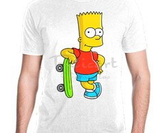 Camiseta Simpsons Bart Série