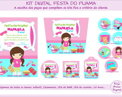 Kit Digital Festa do Pijama