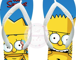 Chinela Havaiana Personalizada Os Simpsons Cod: Sp02