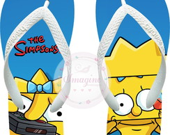 Chinela Havaiana Personalizada Os Simpsons Cod: Sp03