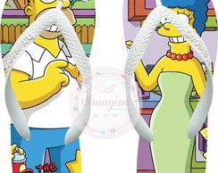 Chinela Havaiana Personalizada Os Simpsons Cod: Sp04