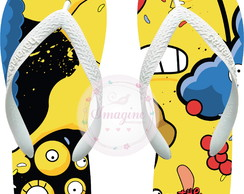 Chinela Havaiana Personalizada Os Simpsons Cod: Sp05